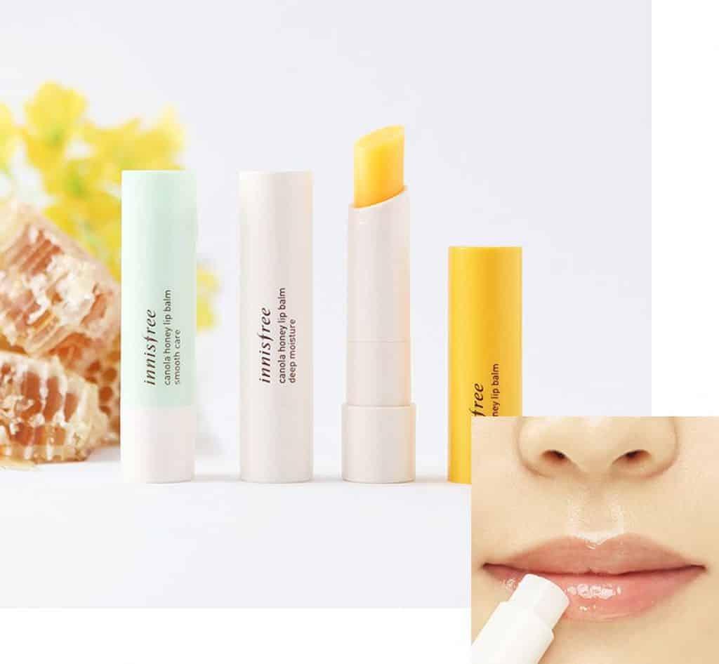 Innisfree Canola Honey Lip Balm, son dưỡng môi