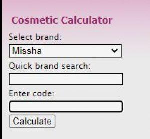 Kiểm tra son qua mã code