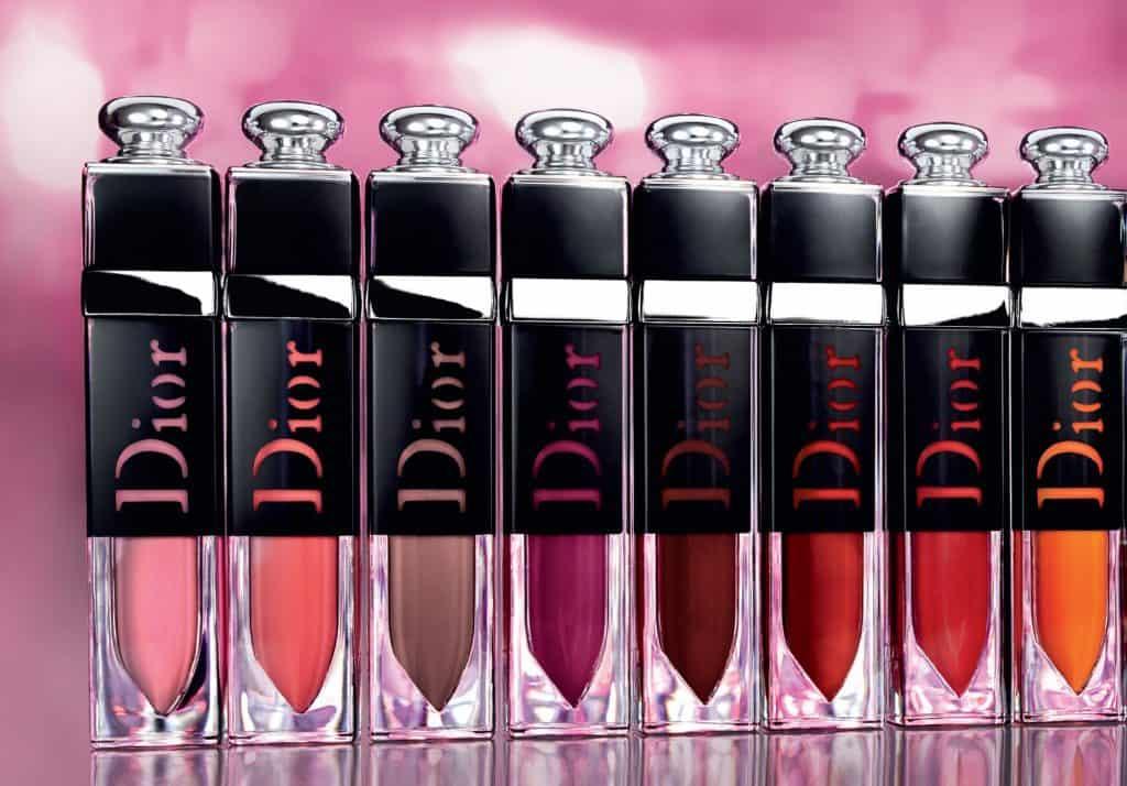 Bảng màu Dior Addict Lacquer Plump