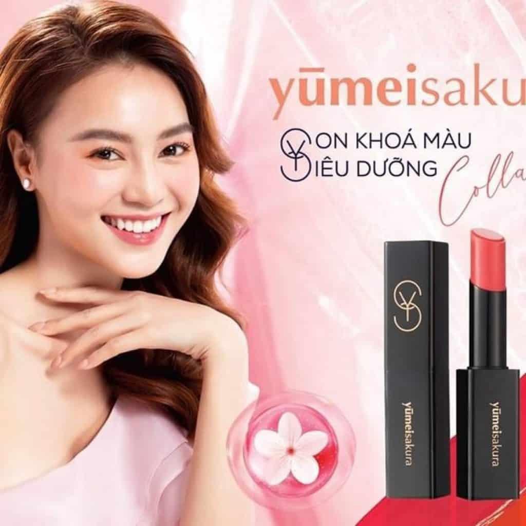 Son môi Yumeisaku nhật bản