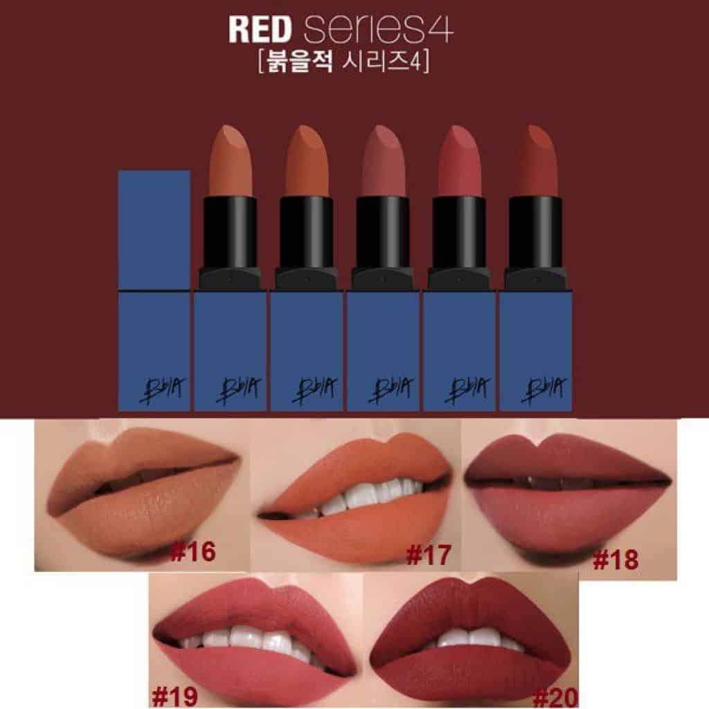 Bảng màu BBIA Last Lipstick Ver2